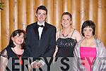 Claire Rohan, Oisin O'Mahony, Mags O'Donoghue and Breda Healy having a ball at the Kerry All Stars ball in the Malton Hotel Killarney on Friday night  .