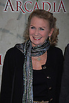 """Passions Juliet Mills arrives at """"Arcadia"""" - Broadway Opening Night on March 17, 2011 at the Ethel Barrymore Theatre, New York City, New York.  Arrivals, Curtain Call and Party after at Gotham Hall. (Photo by Sue Coflin/Max Photos)"""