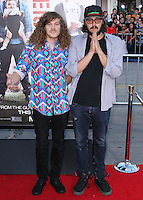 """WESTWOOD, LOS ANGELES, CA, USA - APRIL 28: Blake Anderson, Kyle Newacheck at the Los Angeles Premiere Of Universal Pictures' """"Neighbors"""" held at the Regency Village Theatre on April 28, 2014 in Westwood, Los Angeles, California, United States. (Photo by Xavier Collin/Celebrity Monitor)"""