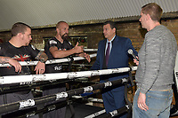 Mauricio Sulaiman, President of the World Boxing Council, during a Media Event at Fitzroy Lodge Gym on 8th October 2018