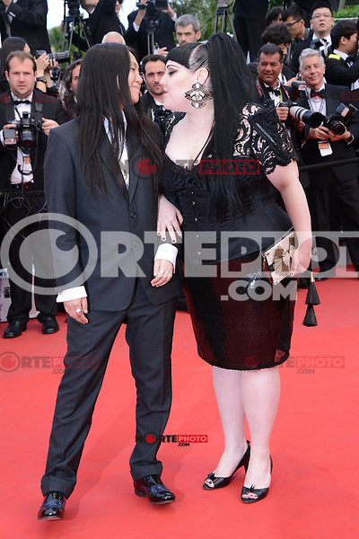 "Kristin Ogata and  Beth Ditto attending the ""De Rouille et D'os"" Premiere during the 65th annual International Cannes Film Festival in Cannes, 17th May 2012...Credit: Timm/face to face /MediaPunch Inc. ***FOR USA ONLY***"