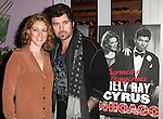 Dylis Croman & Billy Ray Cyrus celebrating Billy Ray Cyrus making his Broadway Debut  in 'Chicago' at Victor's Cafe in New York City on 11/05/2012