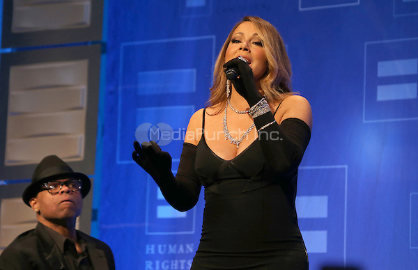 Los Angeles, CA - March 14: Mariah Carey Attending Human Rights Campaign_Inside Los Angeles Gala 2015 At JW Marriott Los Angeles at L.A. LIVE on March 14, 2015. Photo Credit: Faye Sadou / UPA/MediaPunch