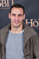 "Ricard Sales attends  ""The Hobbit: An Unexpected Journey"" premiere at the Callao cinema- Madrid."