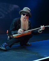 HOLLYWOOD FL - JUNE 12: Billy Gibbons of ZZ Top performs at  Hard Rock Live held at the Seminole Hard Rock Hotel & Casino on June 12, 2012 in Hollywood, Florida. © mpi04/MediaPunch Inc NORTEPHOTO.COM<br />