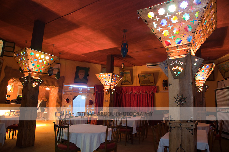 Le Petit Prince is a charming bar and restaurant in Tozeur, Tunisia, offering excellent cuisine, including couscous and rabbit.