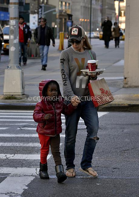WWW.ACEPIXS.COM<br /> <br /> November 10 2013, New York City<br /> <br /> TV personality Jilian Michaels walks in Soho with her daughter Lukensia Michaels Rhoades on November 10 2013 in New York City<br /> <br /> By Line: Curtis Means/ACE Pictures<br /> <br /> <br /> ACE Pictures, Inc.<br /> tel: 646 769 0430<br /> Email: info@acepixs.com<br /> www.acepixs.com