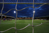 3rd October 2017, The Abbey Stadium, Cambridge, England; Football League Trophy Group stage, Cambridge United versus Southampton U21; General view of The Abbey Stadium through the net