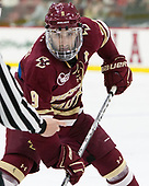 Austin Cangelosi (BC - 9) - The Harvard University Crimson defeated the visiting Boston College Eagles 5-2 on Friday, November 18, 2016, at Bright-Landry Hockey Center in Boston, Massachusetts.{headline] - The Harvard University Crimson defeated the visiting Boston College Eagles 5-2 on Friday, November 18, 2016, at Bright-Landry Hockey Center in Boston, Massachusetts.