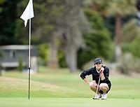 Lily Griffin, Man/Wang, 2019 New Zealand Women's Interprovincials, Maraenui Golf Club, Napier, Hawke's Bay, New Zealand, Tuesday 03rd December, 2019. Photo: Sarah Lord/www.bwmedia.co.nz