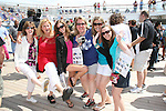 Having fun GL Fans - Kim, Wendy, Brie, Sundi, Christine, Amber - Day 1 July 31, 2010 - So Long Springfield at Sea - A Final Farewell To Guiding Light sets sail from NYC to St. John, New Brunwsick and Halifax, Nova Scotia from July 31 to August 5, 2010  aboard Carnival's Glory (Photos by Sue Coflin/Max Photos)