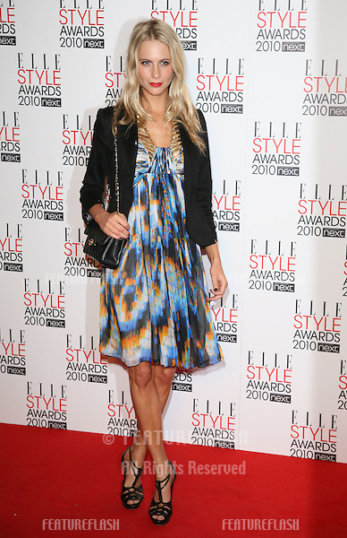 Poppy Delevigne arriving for  the 2010 Elle Style Awards at the Connaught Rooms, London.  22/02/2010  Picture by: Alexandra Glen / Featureflash