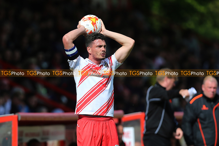 Ron Henry of Stevenage during Stevenage vs Mansfield Town, Sky Bet EFL League 2 Football at the Lamex Stadium on 22nd April 2017