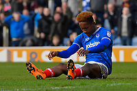 Jamal Lowe of Portsmouth during Portsmouth vs Gillingham, Sky Bet EFL League 1 Football at Fratton Park on 10th March 2018
