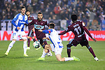 CD Leganes's  Ruben Perez (L) and RC Celta de Vigo's Rafinha Alcantara during La Liga match 2019/2020 round 16<br /> December 8, 2019. <br /> (ALTERPHOTOS/David Jar)