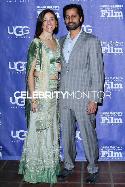 "SANTA BARBARA, CA - JANUARY 30: Jillian Elizabeth, Neil Dalal at the Santa Barbara International Film Festival's 29th Annual Opening Night Premiere - ""Mission Blue"" held at Arlington Theatre on January 30, 2014 in Santa Barbara, California. (Photo by David Acosta/Celebrity Monitor)"