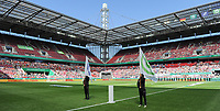 20170527 - KOELN , GERMANY : Rheinenergie stadion  pictured before the final of German Women's Cup 2017 - Pokal Final Frauen , a soccer women game between SC Sand and holders VfL Wolfsburg  , at the Rhein Energie Stadion , saturday 27 th Mayl 2017 . PHOTO SPORTPIX.BE | DIRK VUYLSTEKE