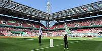 20170527 - KOELN , GERMANY : Rheinenergie stadion  pictured before the final of German Women's Cup 2017 - Pokal Final Frauen , a soccer women game between SC Sand and holders VfL Wolfsburg  , at the Rhein Energie Stadion , saturday 27 th Mayl 2017 . PHOTO SPORTPIX.BE | DIRK VUYLSTEKE