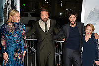 Abbie Cornish, Gerard Butler, Jim Sturgess, Talitha Bateman at the premiere for &quot;Geostorm&quot; at TCL Chinese Theatre, Hollywood. Los Angeles, USA 16 October  2017<br /> Picture: Paul Smith/Featureflash/SilverHub 0208 004 5359 sales@silverhubmedia.com