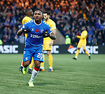 10.11.2019: Livingston v Rangers: Alfredo Morelos celebrates his goal