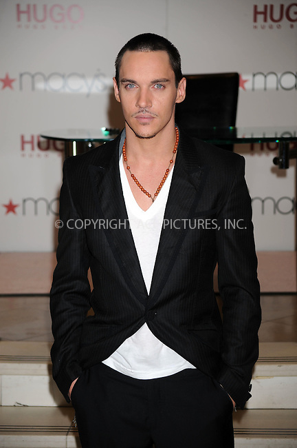 WWW.ACEPIXS.COM . . . . . ....January 30 2009, New York City....Actor Jonathan Rhys Meyers at the launch of the new fragrance Hugo 'Element' at Macy's Herald Square on January 30, 2009 in New York City. ....Please byline: KRISTIN CALLAHAN - ACEPIXS.COM.. . . . . . ..Ace Pictures, Inc:  ..tel: (212) 243 8787 or (646) 769 0430..e-mail: info@acepixs.com..web: http://www.acepixs.com
