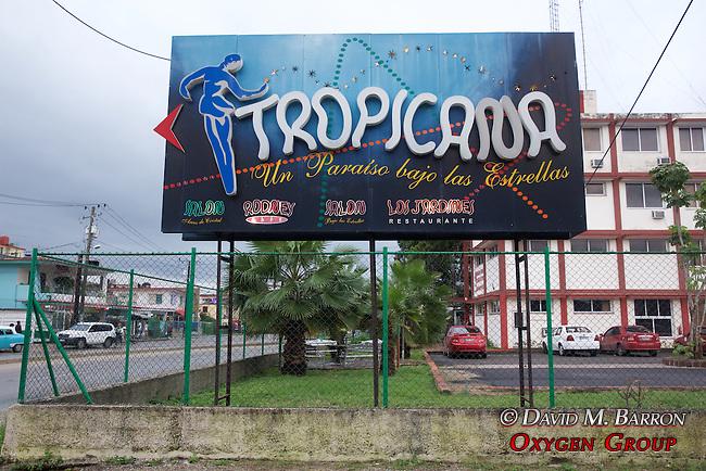 Tropicana Club Billboard