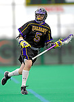 14 April 2007: University of Albany Great Danes' Frank Resetarits, a Senior from Hamburg, NY, in action against the University of Vermont Catamounts at Moulton Winder Field, in Burlington, Vermont. The Great Danes defeated the Catamounts 14-7...Mandatory Photo Credit: Ed Wolfstein Photo