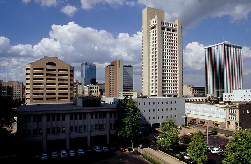 Skyline with Bank of America building, Little Rock, Arkansas