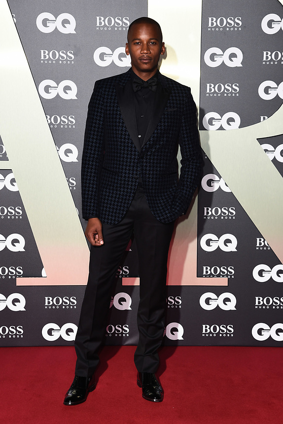 Eric Underwood<br /> arriving for the GQ Men of the Year Awards 2019 in association with Hugo Boss at the Tate Modern, London<br /> <br /> ©Ash Knotek  D3518 03/09/2019
