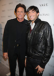 LOS ANGELES, CA. - March 02: Bruce Jenner and Figure skater Evan Lysacek attend the Vera Wang Store Launch at Vera Wang Store on March 2, 2010 in Los Angeles, California.