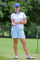 Karine Icher (FRA) prepares to tee off on 9 during round 2 of  the Volunteers of America Texas Shootout Presented by JTBC, at the Las Colinas Country Club in Irving, Texas, USA. 4/28/2017.<br /> Picture: Golffile | Ken Murray<br /> <br /> <br /> All photo usage must carry mandatory copyright credit (&copy; Golffile | Ken Murray)