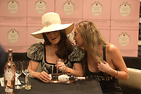 BOCA RATON, FL - FEBRUARY 08:  Actress, restaurateur and,Real Housewives of Beverly Hill star Lisa Vanderpump introduces fans to her newest venture Vanderpump Rose Wine on February 8, 2018 at Total Wine &amp; More in Boca Raton, Florida.<br /> <br /> <br /> People:  Lisa Vanderpump, Jenna Warner<br /> <br /> Transmission Ref:  FLXX<br /> Credit: Hoo-Me.com /MediaPunch