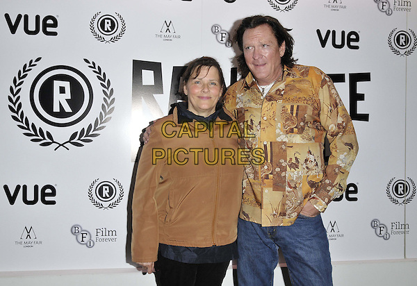 LONDON, ENGLAND - SEPTEMBER 29: Jane Spencer, Michael Madsen attend the &quot;The Ninth Cloud&quot; UK film premiere, Raindance film festival, Vue Piccadilly cinema, Lower Regent St., on Monday September 29, 2014 in London, England, UK. <br /> CAP/CAN<br /> &copy;Can Nguyen/Capital Pictures