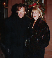 1993 <br /> CHRIS EVERT ex husband Andy Mil l1993<br /> Pho to By John Barrett-PHOTOlink.net/MediaPunch