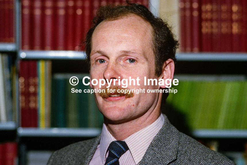 Dr Philip Robinson, deputy keeper, Ulster Folk Museum, Cultra, N Ireland, UK, 19850027PR..Copyright Image from Victor Patterson, 54 Dorchester Park, Belfast, UK, BT9 6RJ..Tel: +44 28 9066 1296.Mob: +44 7802 353836.Voicemail +44 20 8816 7153.Skype: victorpattersonbelfast.Email: victorpatterson@mac.com.Email: victorpatterson@ireland.com (back-up)..IMPORTANT: If you wish to use this image or any other of my images please go to www.victorpatterson.com and click on the Terms & Conditions. Then contact me by email or phone with the reference number(s) of the image(s) concerned.