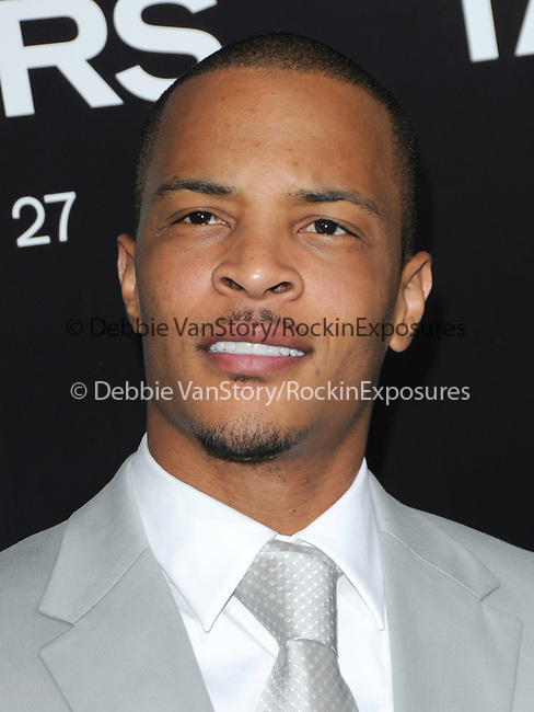 Tip T.I. Harris at the Screen Gems' World Premiere of Takers held at The Arclight Theatre in Hollywood, California on August 04,2010                                                                               © 2010 Debbie VanStory / Hollywood Press Agency