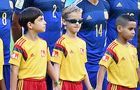 FUSSBALL WM 2014                FINALE Deutschland - Argentinien     13.07.2014 Coole Kids von der Escorte