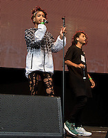 Jaden and Willow Smith Perform during The New Look Wireless Music Festival at Finsbury Park, London, England on Sunday 05 July 2015. Photo by Andy Rowland.