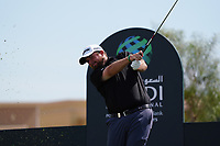 Shane Lowry (IRL) on the 8th during Round 3 of the Saudi International at the Royal Greens Golf and Country Club, King Abdullah Economic City, Saudi Arabia. 01/02/2020<br /> Picture: Golffile | Thos Caffrey<br /> <br /> <br /> All photo usage must carry mandatory copyright credit (© Golffile | Thos Caffrey)