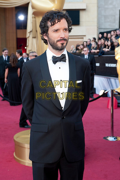 Bret McKenzie, Oscar®-nominee for Achievement in Music Written for Motion Pictures (Original Song).Arrivals at the 84th Annual Academy Awards® in Hollywood, CA., USA..February 26, 2012.*Editorial Use Only*.oscars half length black tuxedo beard facial hair .CAP/A.M.P.A.S./NFS.©A.M.P.A.S. Supplied by Capital Pictures.