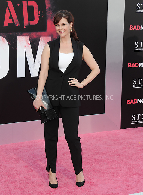 www.acepixs.com<br /> <br /> July 26 2016, LA<br /> <br /> Sara Rue arriving at the premiere of 'Bad Moms' at the Mann Village Theatre on July 26, 2016 in Westwood, California.<br /> <br /> By Line: Peter West/ACE Pictures<br /> <br /> <br /> ACE Pictures Inc<br /> Tel: 6467670430<br /> Email: info@acepixs.com<br /> www.acepixs.com