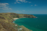Lantic Bay near Polruan, Cornwall