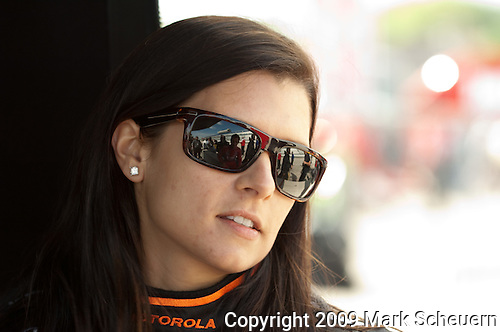 May 30 2009: IndyCar driver Danica Patrick at the ABC Supply Company A.J. Foyt 225 at the Milwaukee Mile in West Allis, WI.
