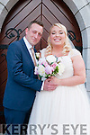Jade Groves, daughter of Gary & Micelle Mears, London & Michael Reid, son Kevin & Jeanie Reid, London & Granson of Mickey O'Flaherty, Moyvane who were married in St Mary's Church, Listowel on Saturday last by canon Declan O'Connor and afterwards at the Listowel Arms Hotel.