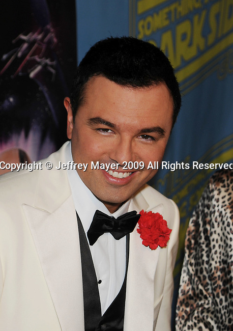 """BEVERLY HILLS, CA. - December 12: Seth MacFarlane attends the """"Family Guy Something, Something, Something, Dark Side"""" DVD Release Party at a private residence on December 12, 2009 in Beverly Hills, California."""