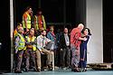English National Opera presents LADY MACBETH OF MTSENSK, at the London Coliseum. Directed by Dmitri Tcherniakov. Picture shows: John Daszak (Sergei), Patricia Racette (Katerina Lvovna Ismailova).