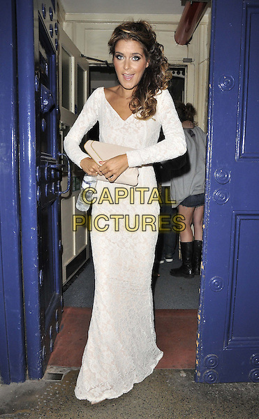LONDON, ENGLAND - JULY 20: Gemma Oaten attends the &quot;Top Hat&quot; charity fundraising show, Theatre Royal, Drury Lane, on Sunday July 20, 2014 in London, England, UK. <br /> CAP/CAN<br /> &copy;Can Nguyen/Capital Pictures