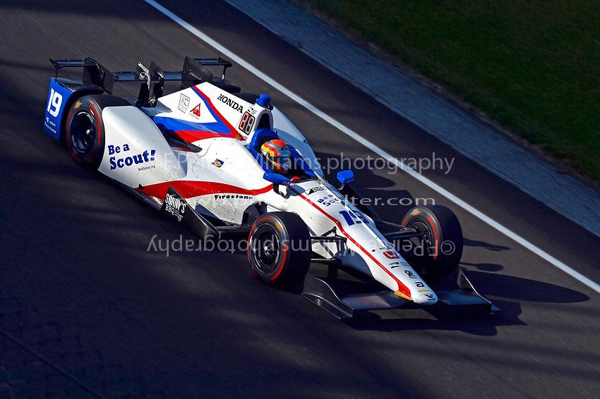 Verizon IndyCar Series<br /> Indianapolis 500 Practice<br /> Indianapolis Motor Speedway, Indianapolis, IN USA<br /> Monday 15 May 2017<br /> Ed Jones, Dale Coyne Racing Honda<br /> World Copyright: F. Peirce Williams