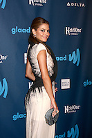 LOS ANGELES - APR 20:  Maria Menounos arrives at the 2013 GLAAD Media Awards at the JW Marriott on April 20, 2013 in Los Angeles, CA