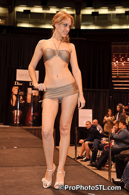 Lori Coulter Swimsuit Fashion Show at St. Louis Auto Show on Jan 28, 2011.